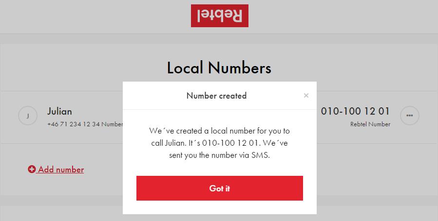 i got a new number